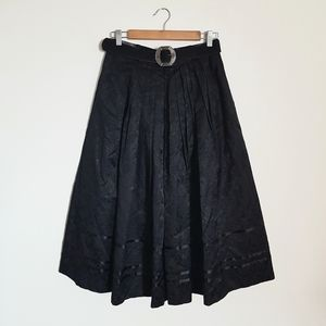 "Vintage ""Original Alpen Trachten"" Belted Skirt"